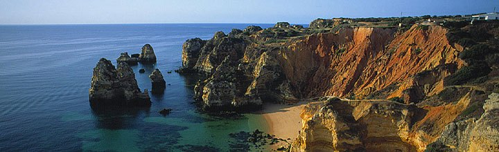 Algarve-Küste in Portugal
