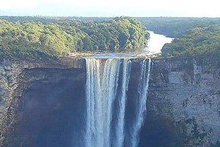 Kaiteur Fall in Guyana